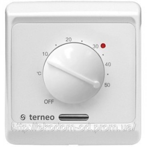 Терморегулятор для теплого пола. Механический.